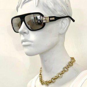 Cazal Black & Gold Sunglasses Statement Bold